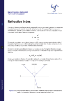 TN 2020-07 Index of refraction